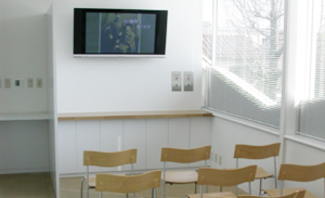 ビデオ放映室